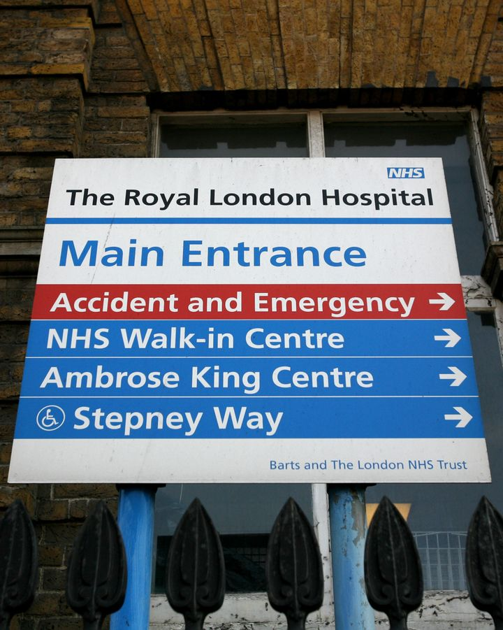 The Royal London Hospital is among those hit in the cyber attack