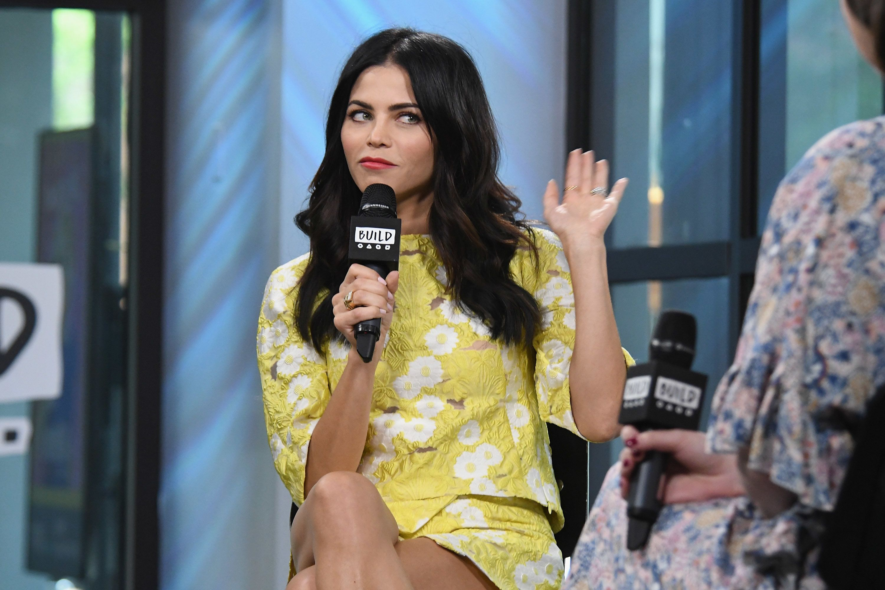 NEW YORK, NY - MAY 12:  Jenna Dewan Tatum visits Build Series to discuss her role as host and mentor in the dance competition series 'World of Dance' at Build Studio on May 12, 2017 in New York City.  (Photo by Gary Gershoff/WireImage)