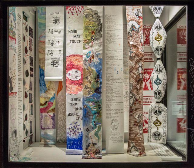 <em>Blood, Milk and Tears,</em> installation at Fentster Gallery, Toronto