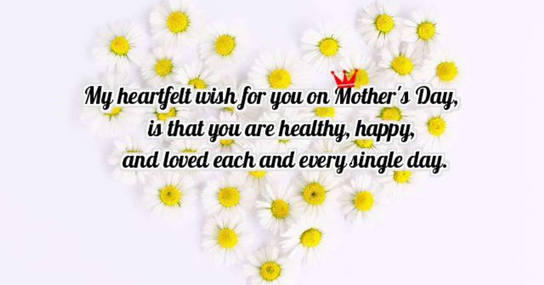 32 happy mothers day wishes messages and greetings huffpost kristyandbryce Choice Image