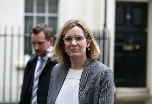 Home Secretary Amber Rudd has urged NHS trusts to upgrade their computer