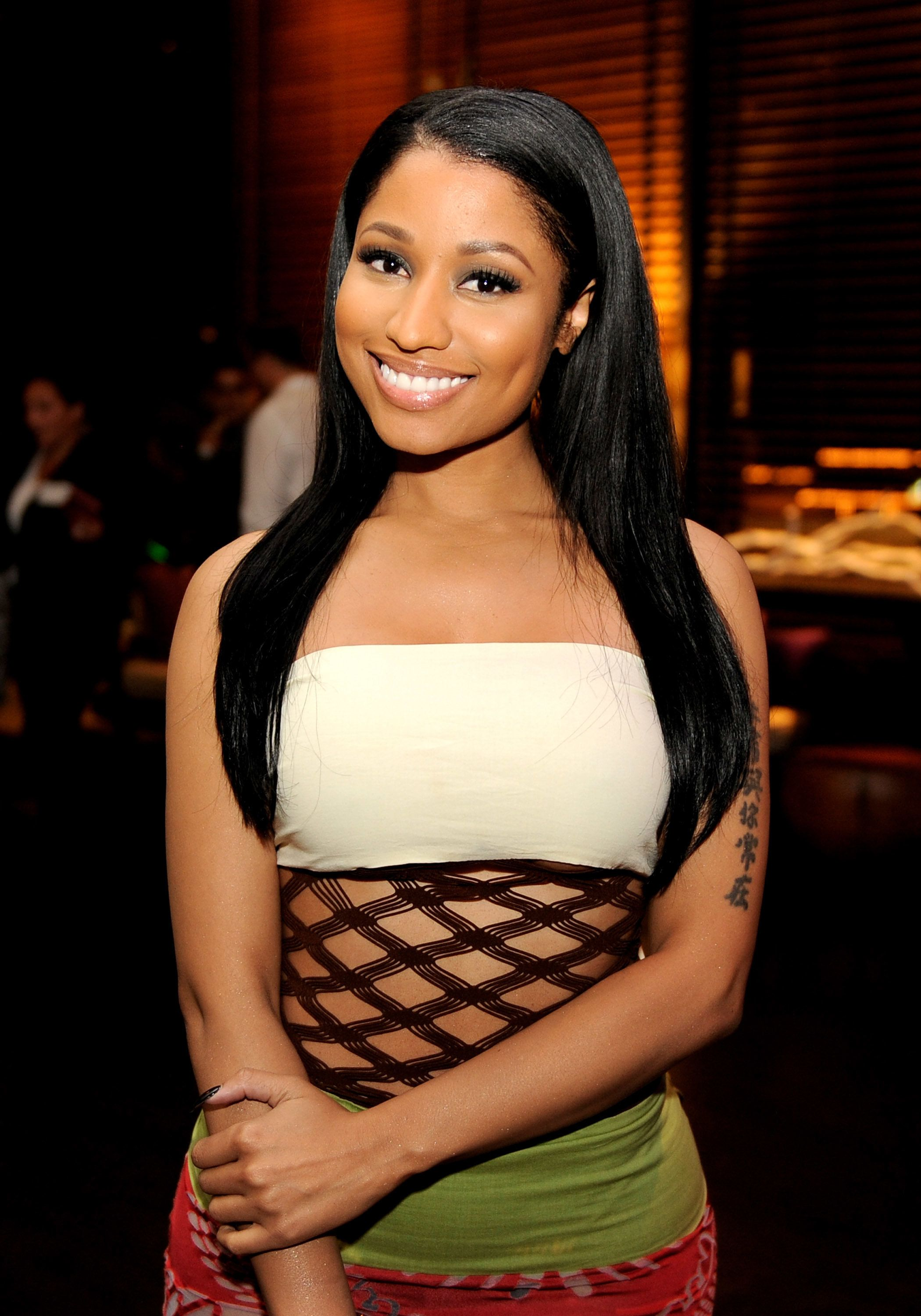 LOS ANGELES, CA - APRIL 21:  Singer Nicki Minaj arrives at the after party for the premiere of Twentieth Century Fox's 'The Other Woman' at The W Hotel on April 21, 2014 in Los Angeles, California.  (Photo by Kevin Winter/Getty Images)