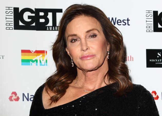 Jenner was photographed earlier in the evening inside the
