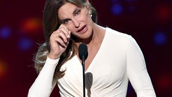 LOS ANGELES, CA - JULY 15:  Honoree Caitlyn Jenner accepts the Arthur Ashe Courage Award onstage during The 2015 ESPYS at Microsoft Theater on July 15, 2015 in Los Angeles, California.  (Photo by Kevin Winter/Getty Images)