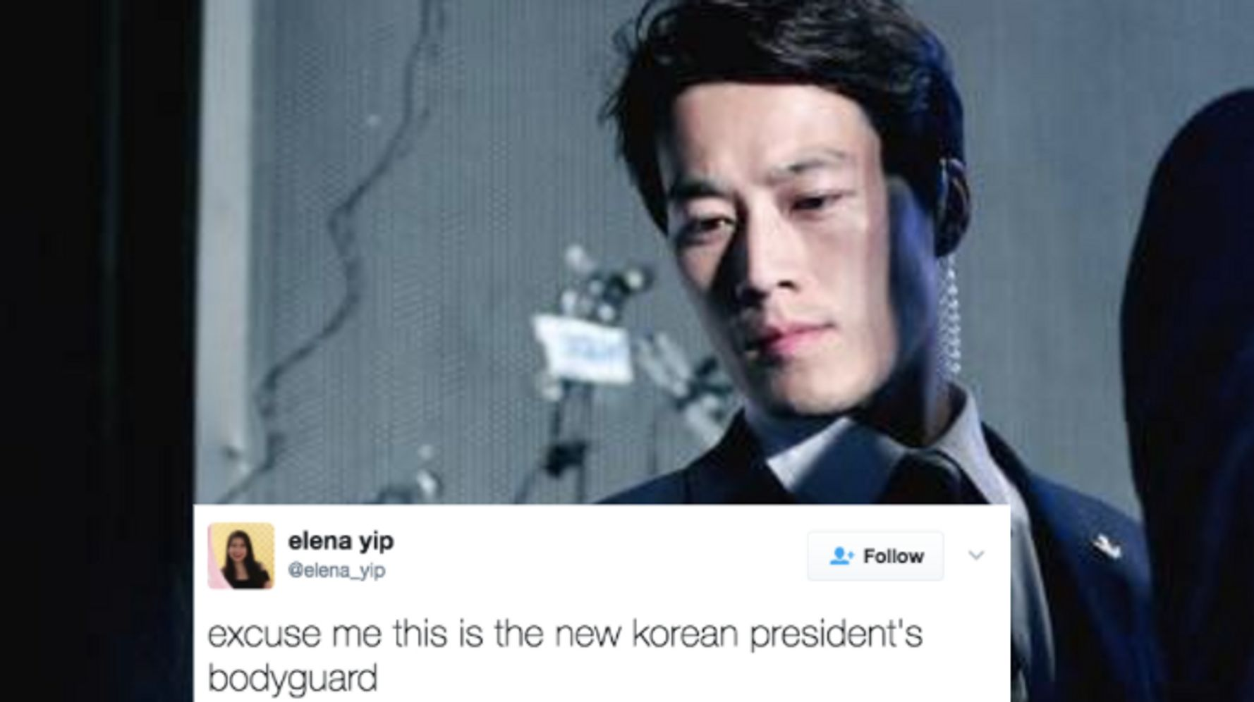 South Korea Has A New President, But His Hot Bodyguard Is Stealing