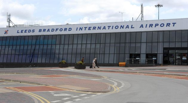 A controlled explosion wascarried out on a suspicious package at Leeds Bradford Airport. File