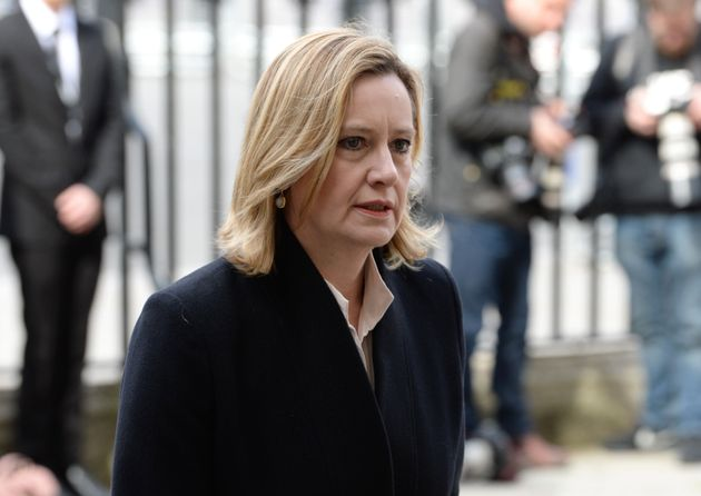 Home Secretary Amber Rudd urged NHS trusts to upgrade their computer