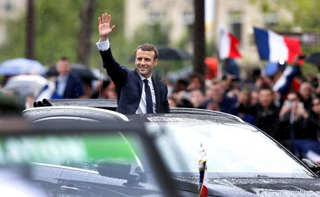 Emmanuel Macron Inaugurated As France's New