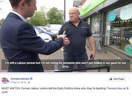 Tories Target Jeremy Corbyn In Most Prominent Facebook Election Advert