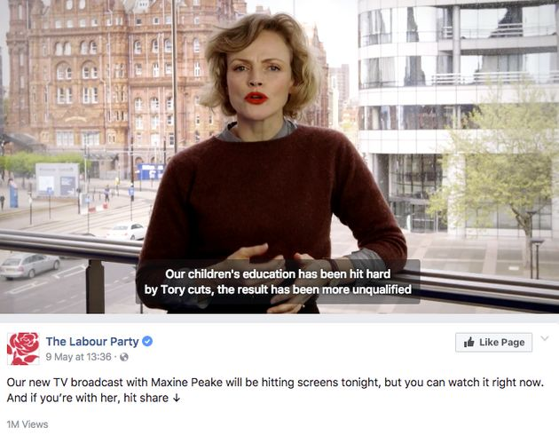 Tories Target Jeremy Corbyn In Most Prominent Facebook Election