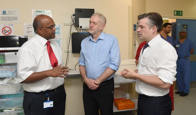 Labour Pledges Extra £37bn For NHS If It Wins The General