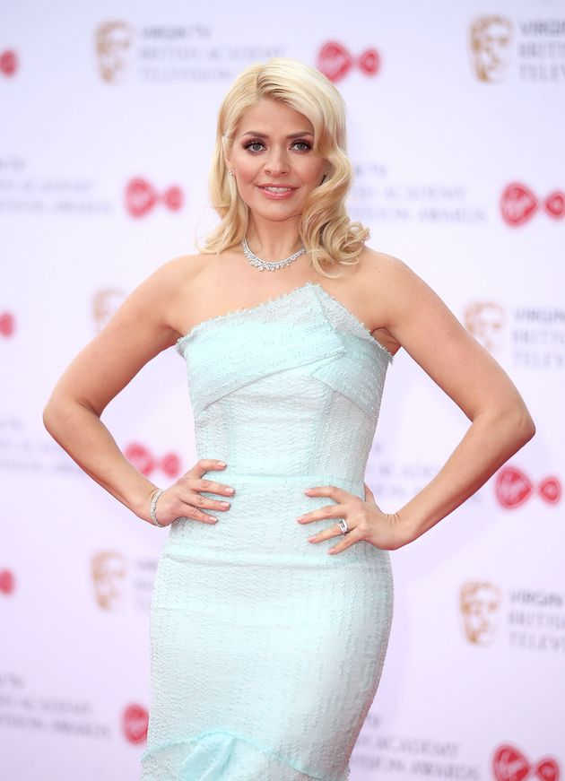 Holly Willoughby attends the Virgin TV BAFTA Television Awards at The Royal Festival Hall on 14 May 14...