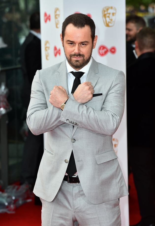Danny Dyer made an appearance at the TV