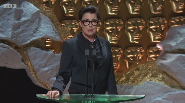Sue Perkins hosted the TV
