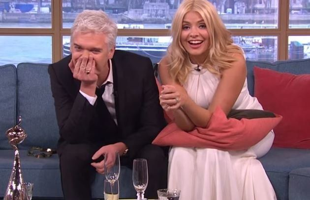 Phillip and Holly made a famoulsy hungover appearance on 'This