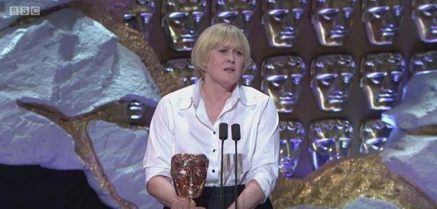 Sarah Lancashire won the Best Actress award at the TV