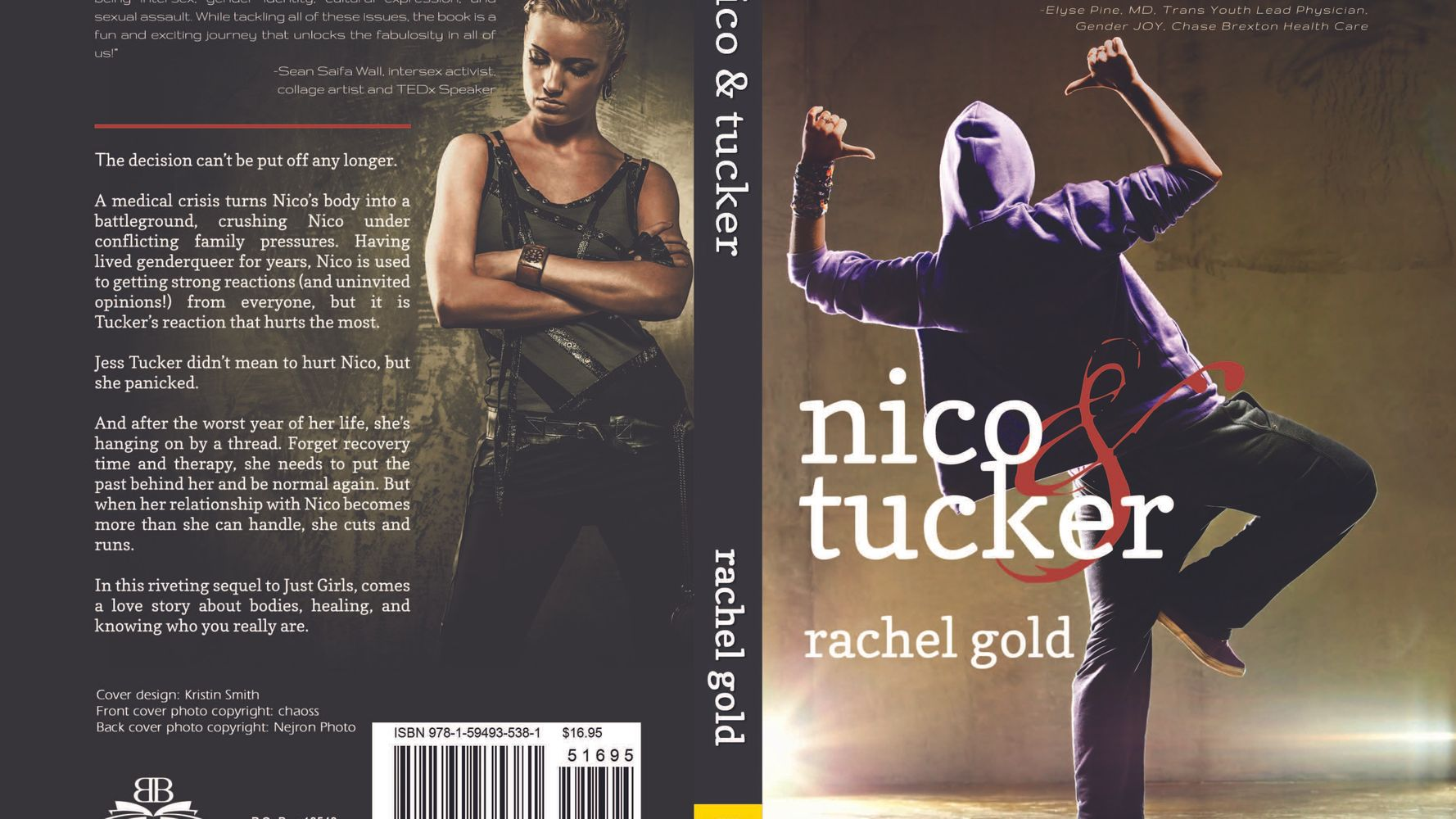 Rachel Gold On Her New YA Book About A Non-Binary Teen: Nico And
