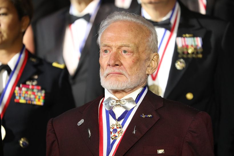 Former Astronaut Buzz Aldrin is a recipient of the 2017 Ellis Island Medals of Honor.