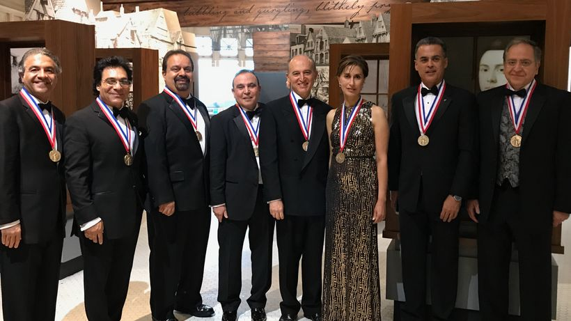 Iranian-Americans Recognized at the Ellis Island Medals of