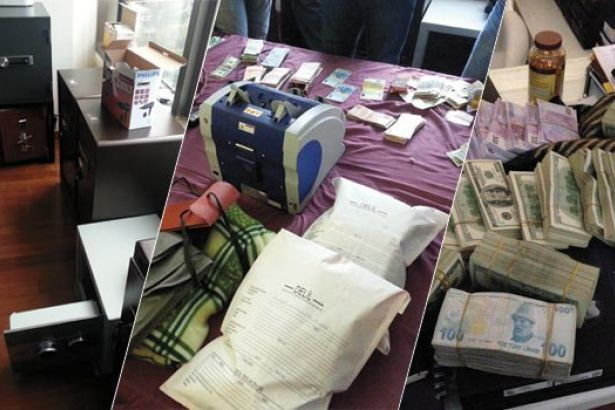 December 17, 2013, corruption operation. Money and safes found in one of the Minister's son's home.