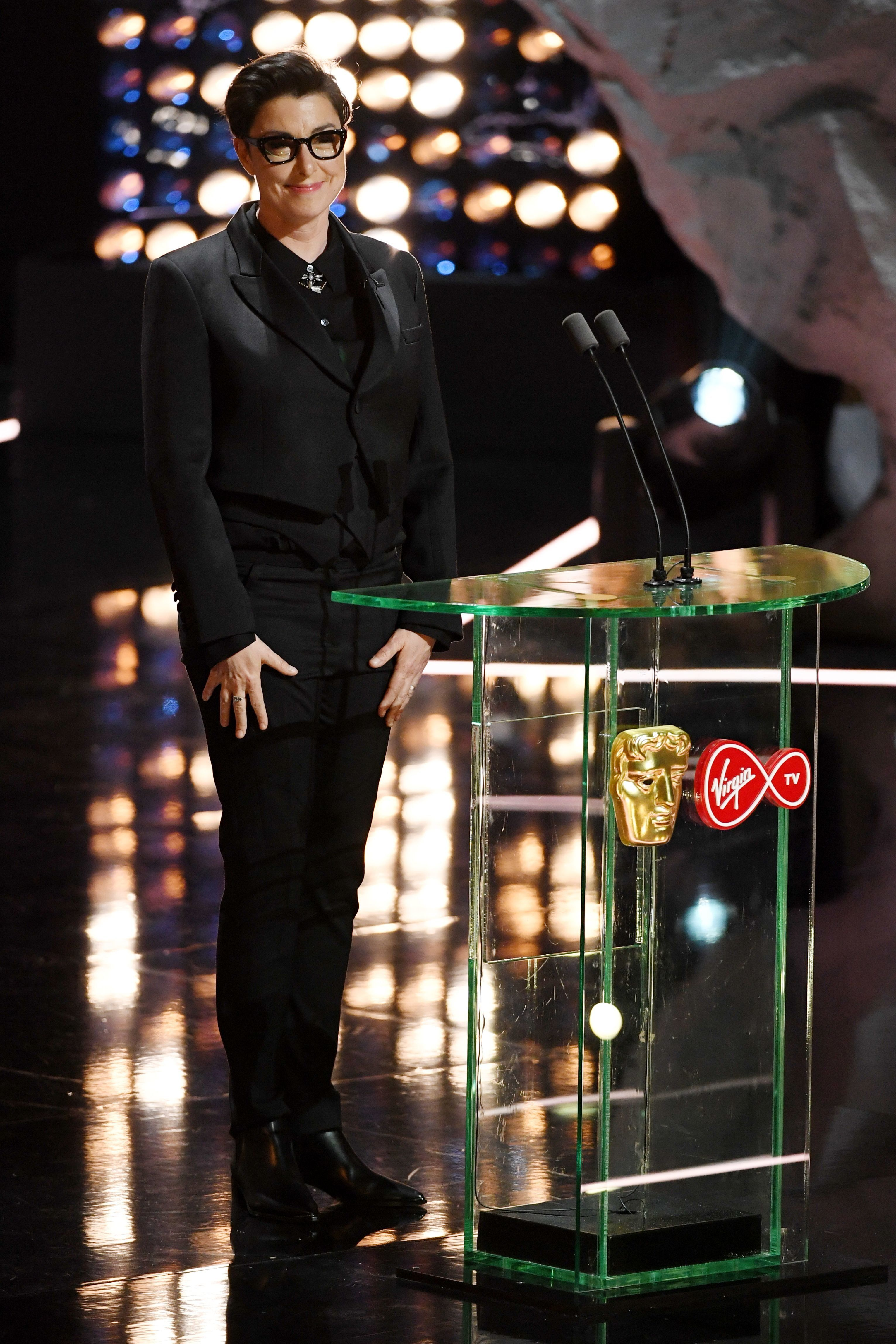 Sue Perkins was censored as she hosted the TV