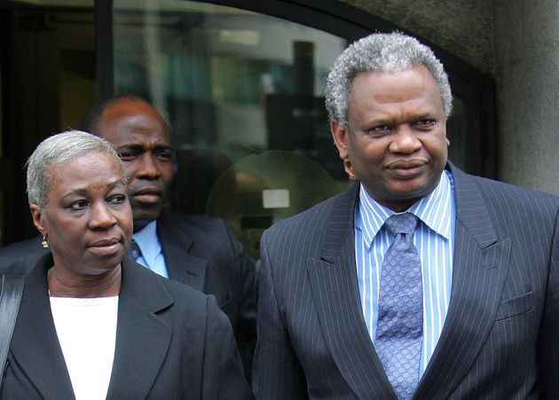 Damilola Taylor parents, Richard and Gloria, seen leaving the Old Bailey in London in 2006 after two...