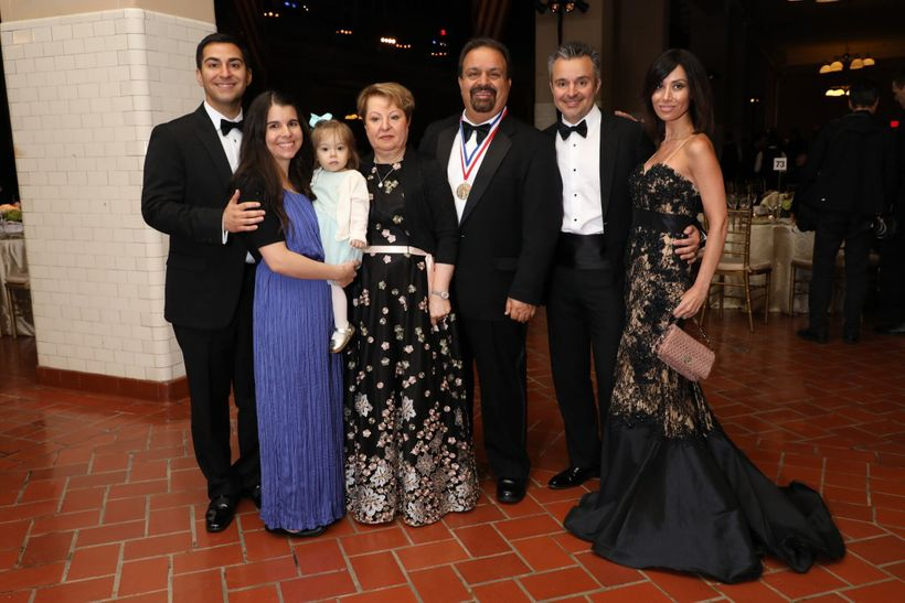 Iranian americans recognized at the ellis island medals of Jalal farzaneh oklahoma