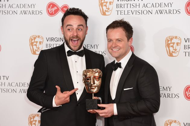 Ant and Dec picked up a TV Bafta on Sunday