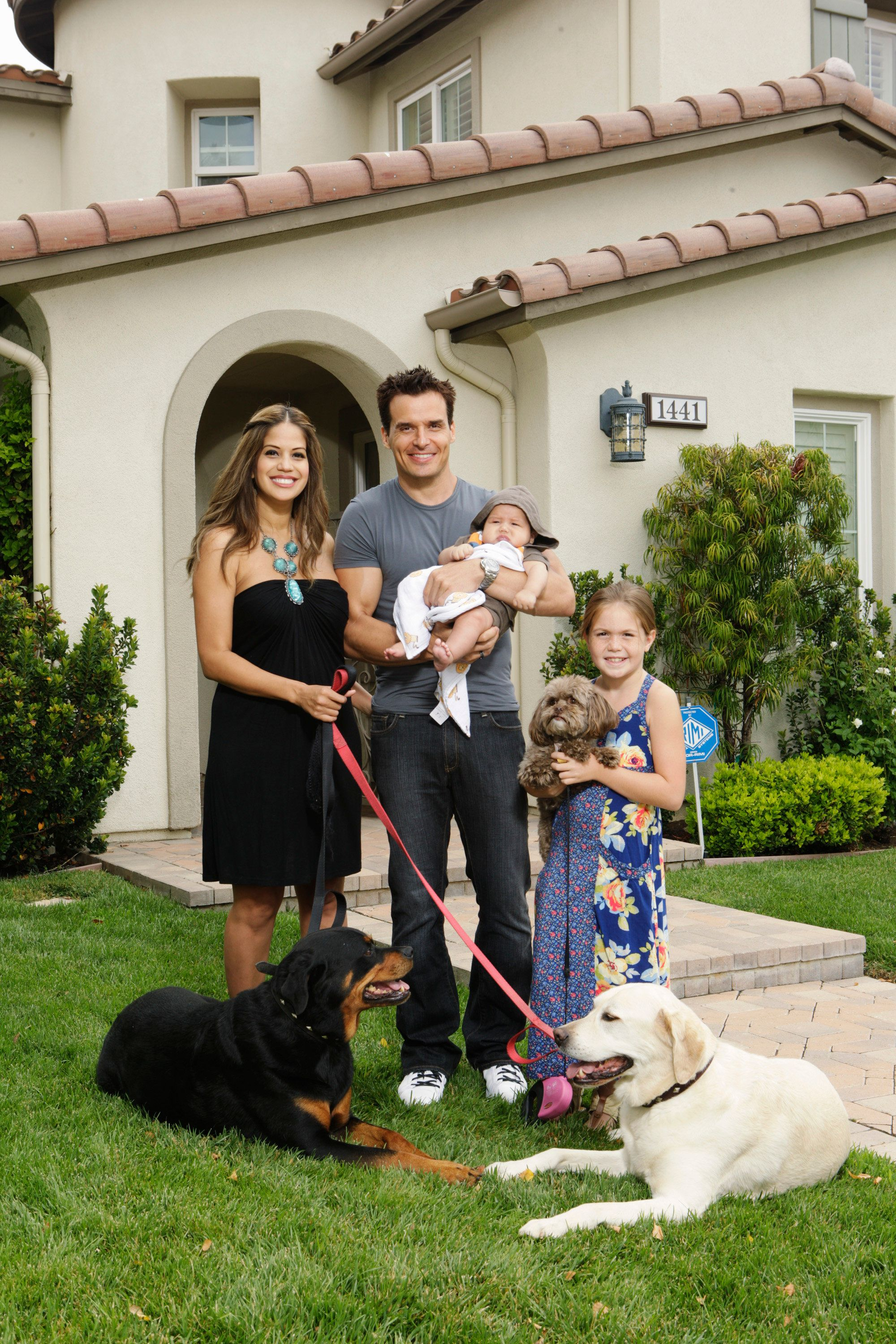 CELEBRITY WIFE SWAP - Five celebrity couples -- including MICK FOLEY, professional wrestler/writer, and ANTONIO SABATO JR., actor/model -- will put a new spin on the critically-acclaimed reality series, 'Wife Swap,' in 'Celebrity Wife Swap,' premiering TUESDAY, JANUARY 3, 2012 (9:00-10:00 p.m., ET) on the ABC Television Network. (Photo by Dave Bentley/ABC via Getty Images)CHERYL MOANA MARIE, ANTONIO SABATO JR., ANTONIO SABATO III, MINA BREE SABATO