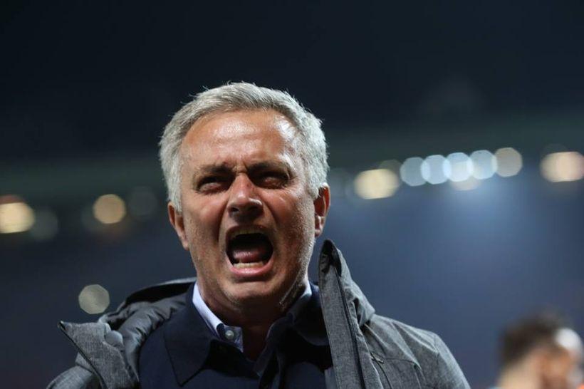 Jose Mourinho shows his emotions as United beat Celta Vigo on aggregate to advance to the Europa League final.