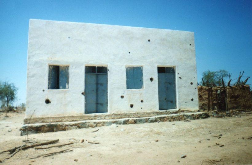 Scars of war. Eritrea 2001