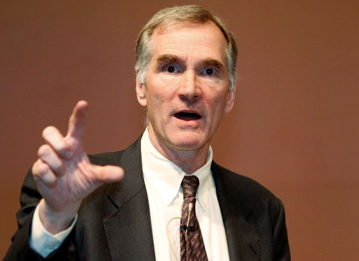 David Swensen, Yale University chief investment officer, speaks during an asset management forum in Seoulin 2010.