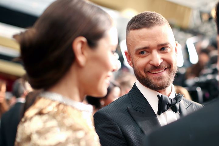 "For Mother's Day, Justin Timberlake thanked Jessica Biel for giving him ""the greatest gift."""