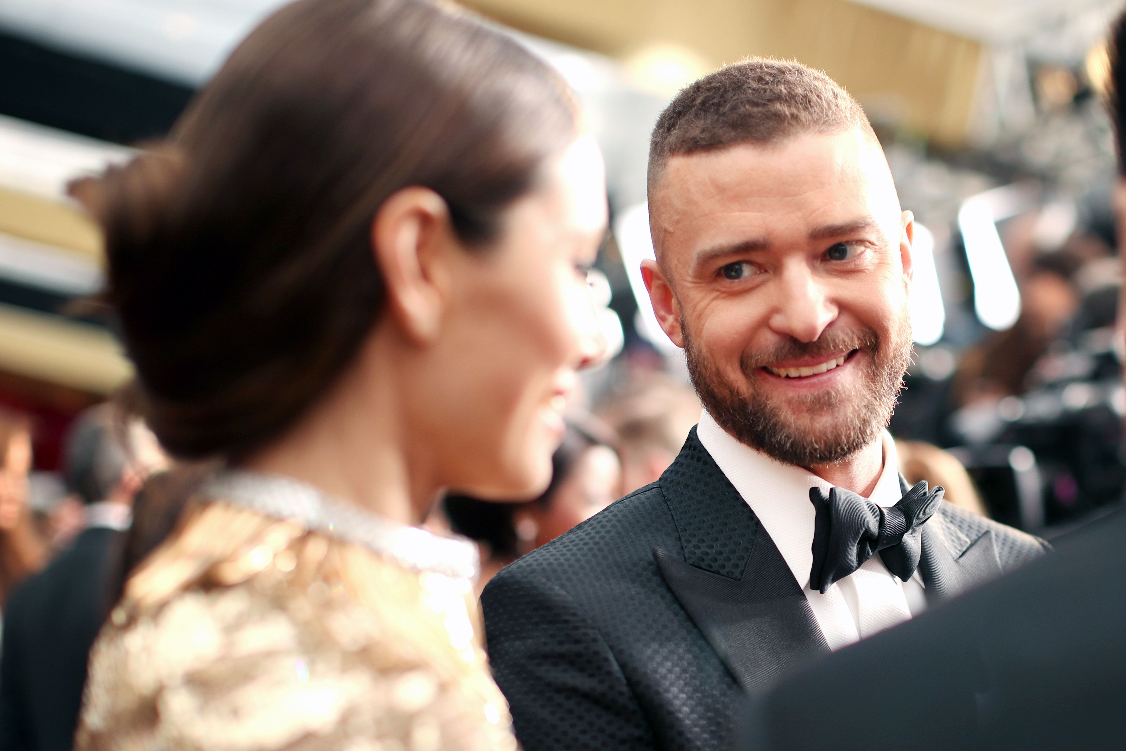 """For Mother's Day, Justin Timberlake thanked Jessica Biel forgiving him """"the greatest gift."""""""