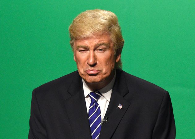 At least one person in the White House digs Alec Baldwin's Trump