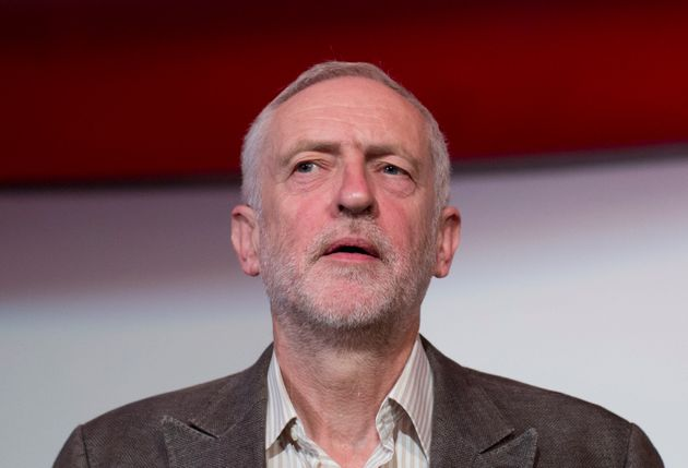 Jeremy Corbyn at a Stop The War Coalition