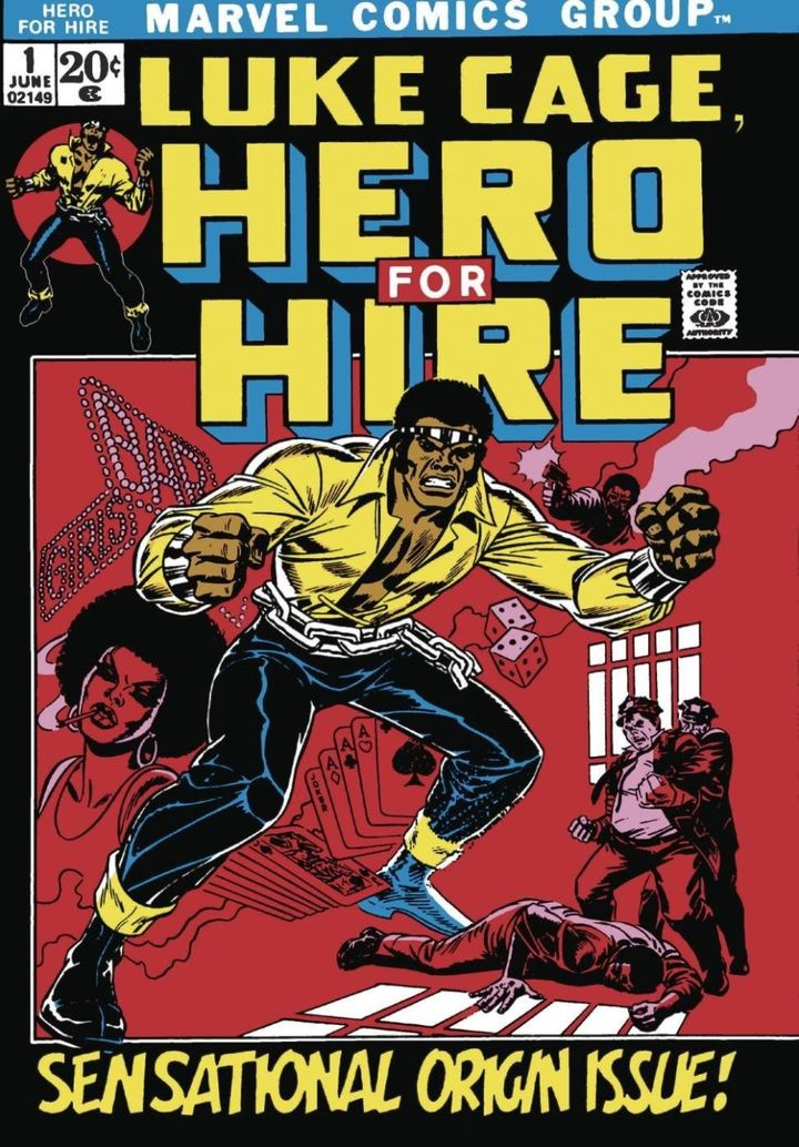 <em>Introduced in June 1972, Marvel's Luke Cage embodied some of the best and worst aspects of how pop culture addressed race
