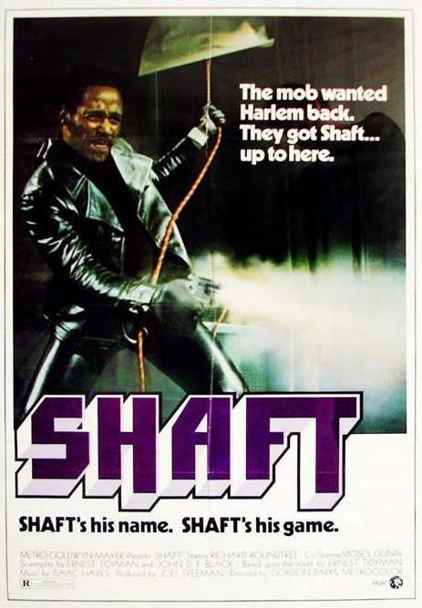 <em>Shaft became iconic pop culture in the U.S., first released in 1971.</em>