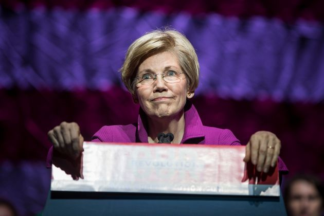Sen. Elizabeth Warren (D-Mass.) is raising huge sums from online grassroots donors at an early stage...
