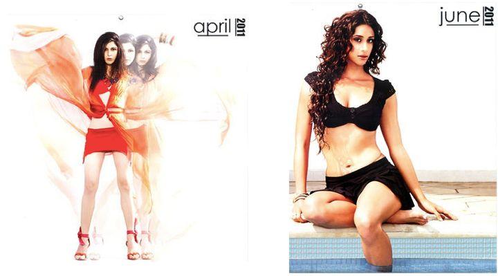 ZYNG Calendar 2011, April and June
