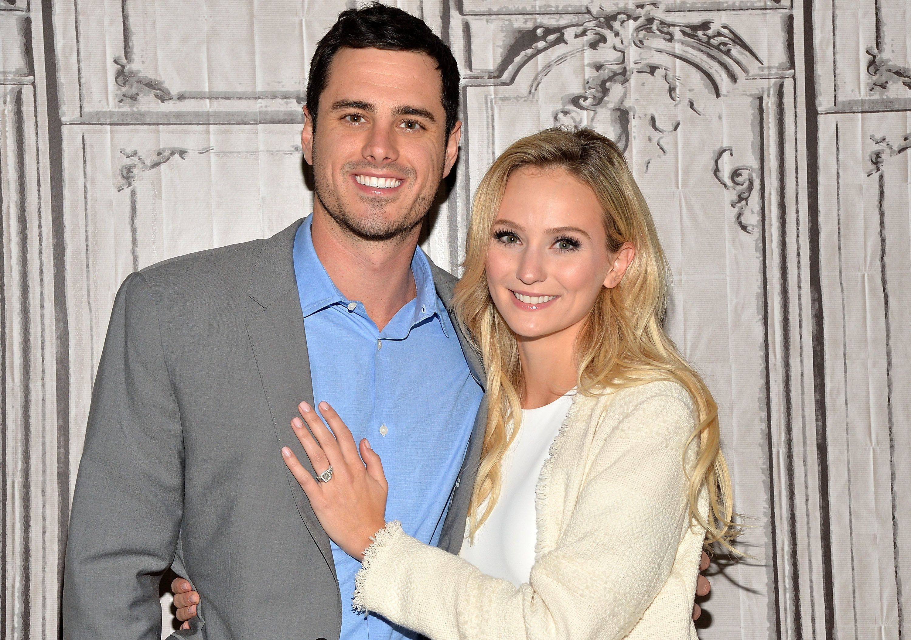 NEW YORK, NY - MARCH 15:  Bachelor Ben Higgins and Lauren Bushnell attend the AOL Build Speaker Series to discuss 'The Bachelor' at AOL Studios In New York on March 15, 2016 in New York City.  (Photo by Slaven Vlasic/Getty Images)