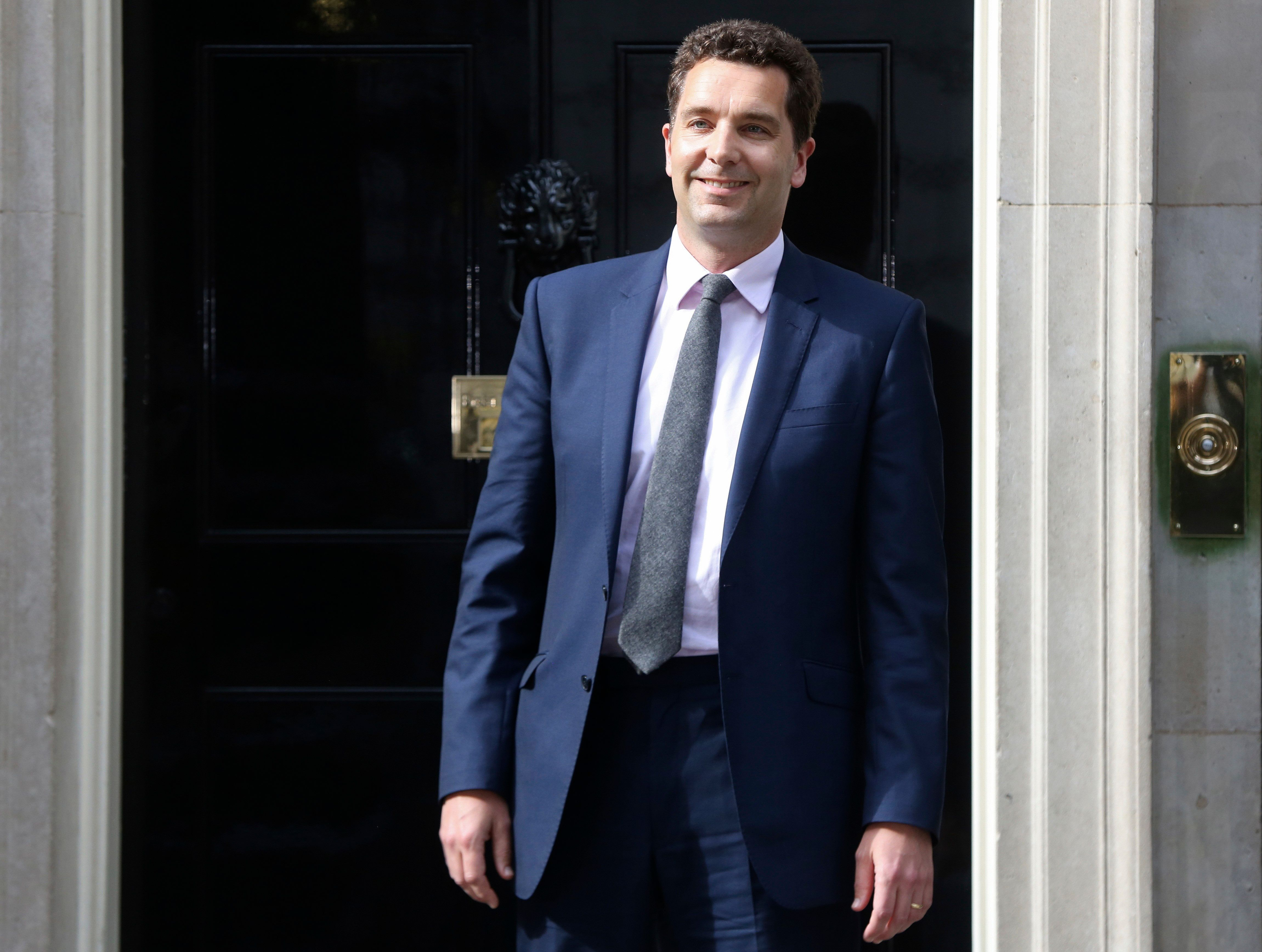 Edward Timpson, who is standing again inCrewe and