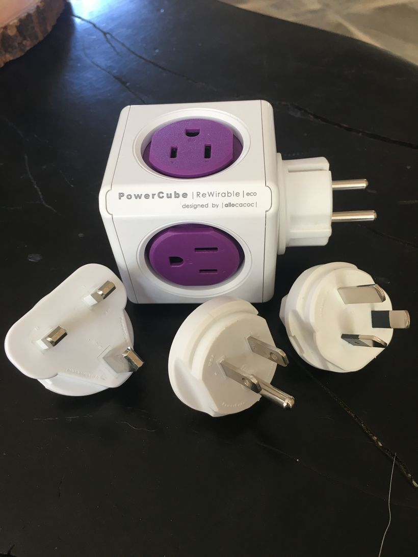 PowerCube Rewireable Adapter