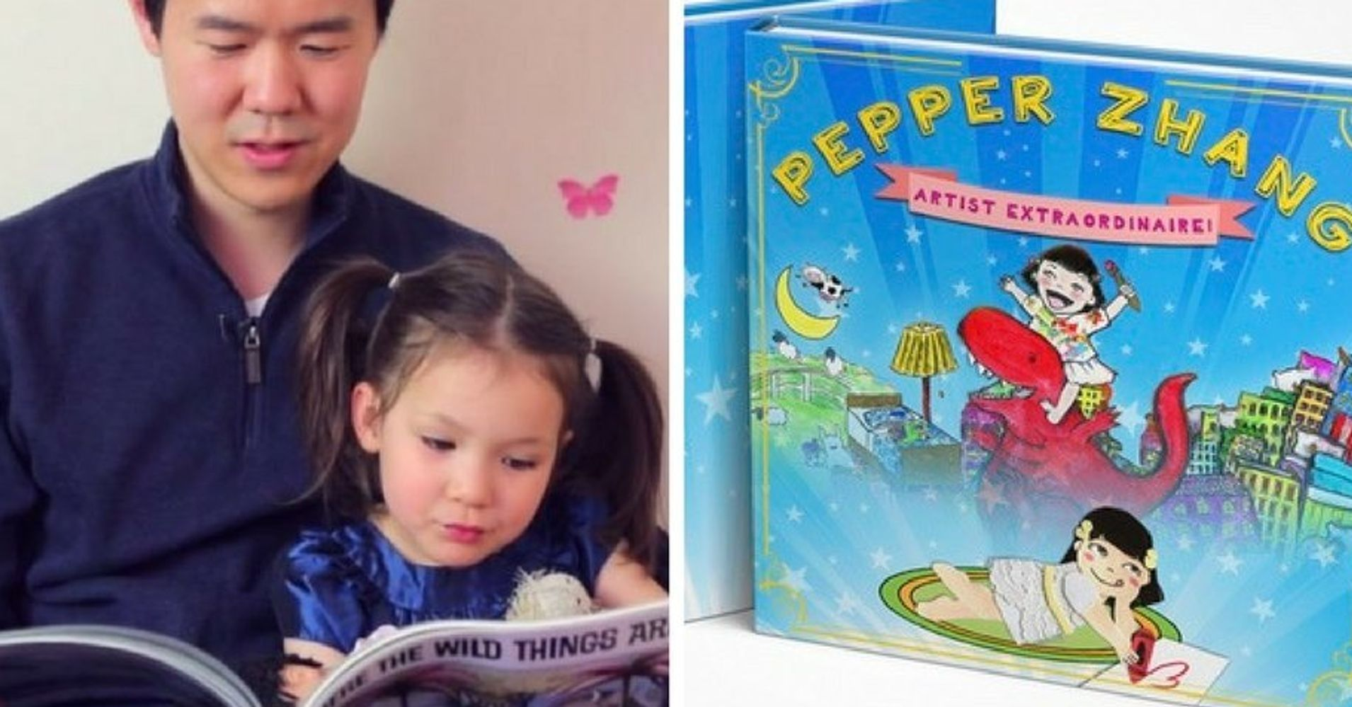 Dad Creates Book For Daughter Who Didn
