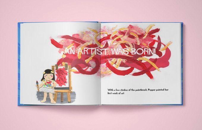 An artist is born!