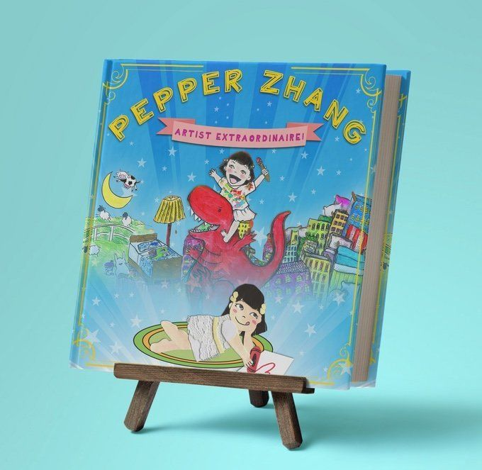 The cover of <i>Pepper Zhang: Artist Extraordinare.</i>
