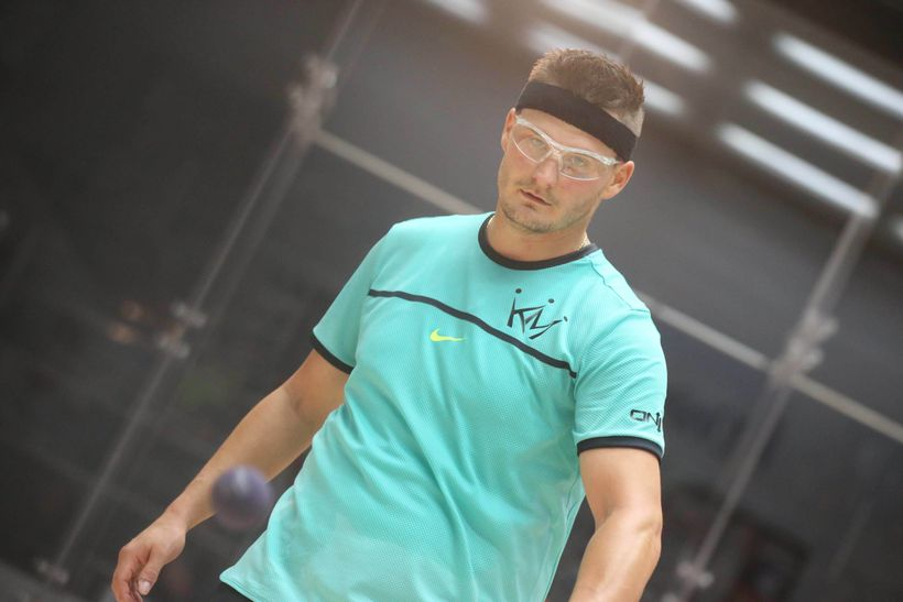 Racquetball prodigy, Kane Waselenchuk. 12-time #1 IRT ranked player.