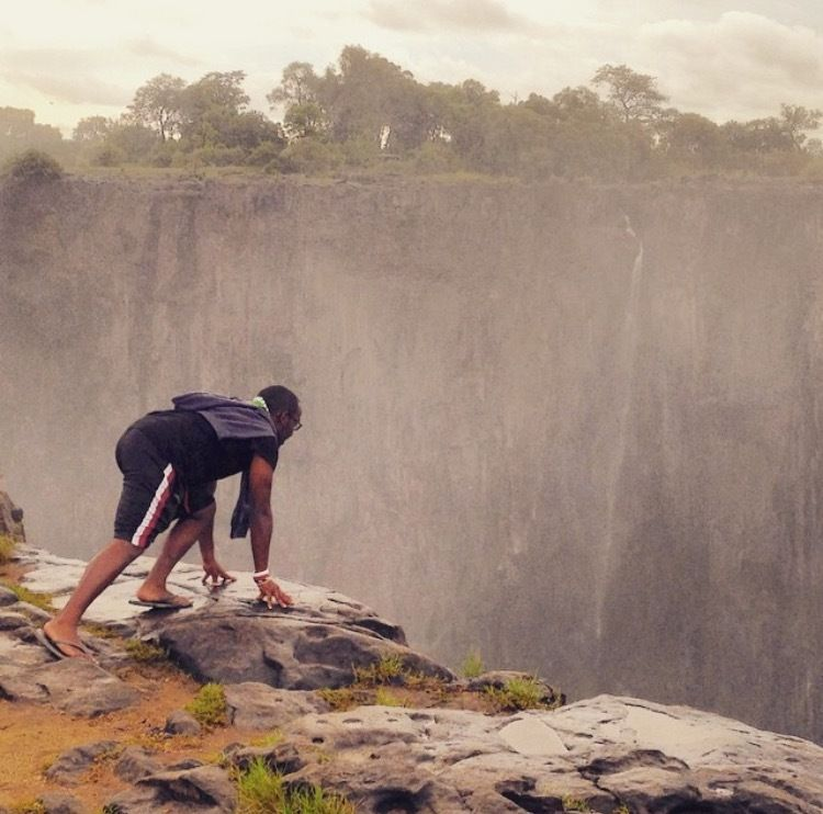 <strong>Living on the edge of Victoria Falls, Zimbabwe</strong>