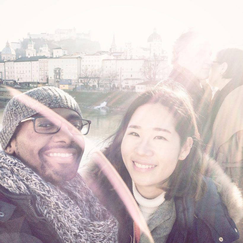 Me and Che in Salzburg, Austria