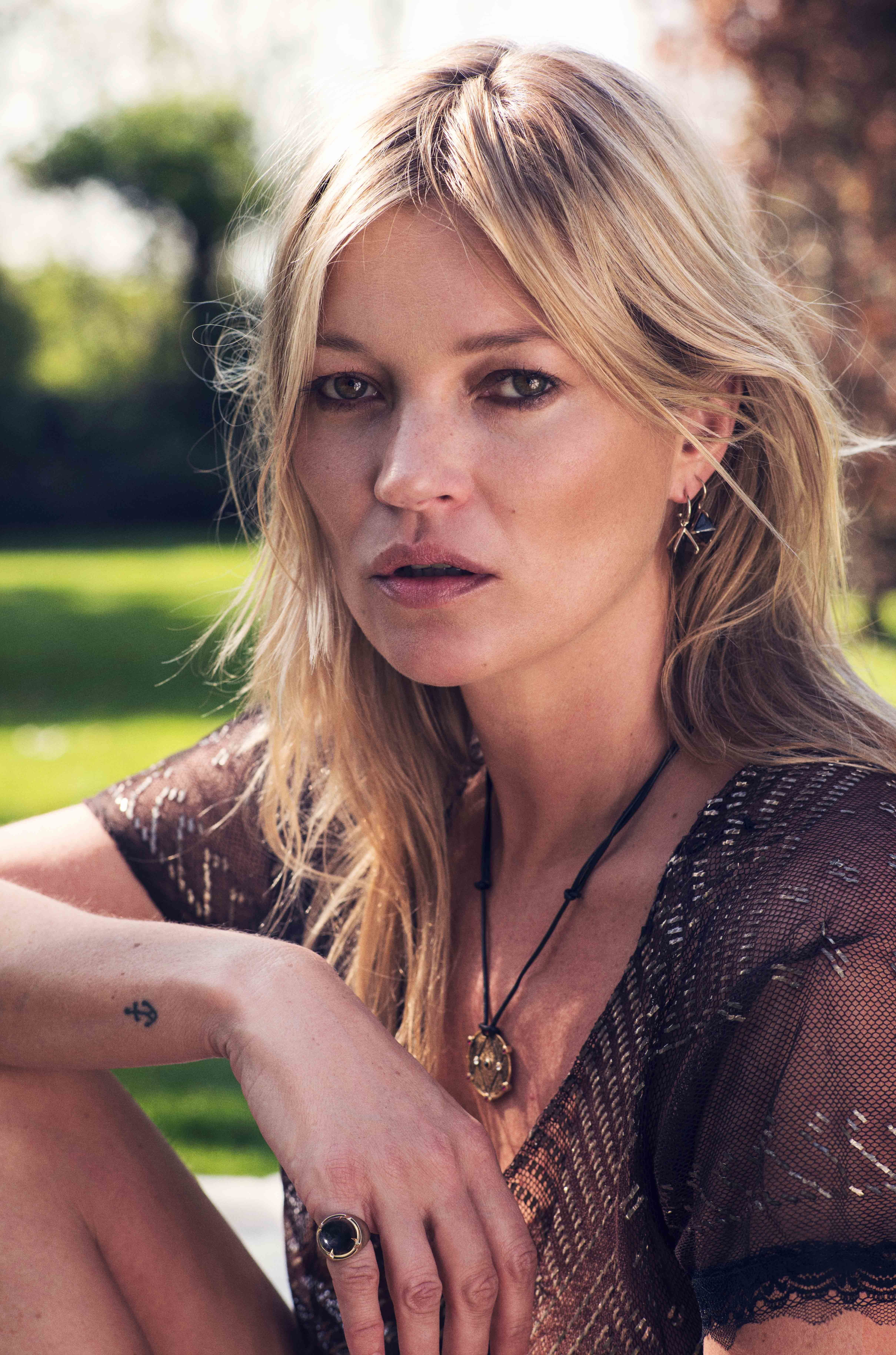 Kate Moss Launches Debut Jewellery Collection And Slams People Who Wear Matching